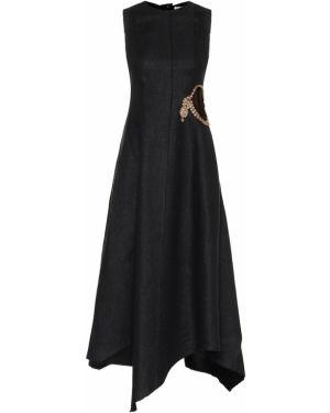 Платье модерн льняное Jw Anderson