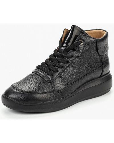Черные высокие кроссовки Geox