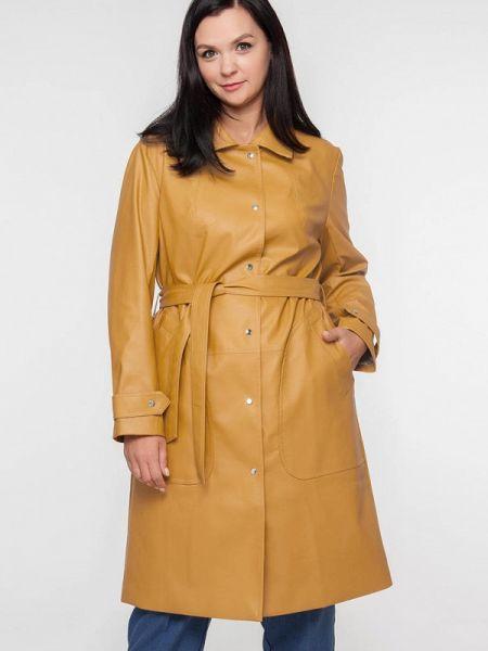 Кожаная куртка весенняя Лимонти