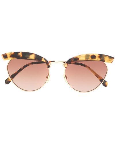 Солнцезащитные очки коричневый хаки Kaleos