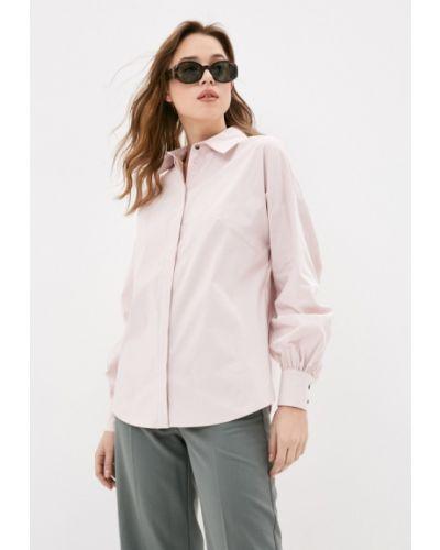 Розовая рубашка с длинными рукавами Blauz