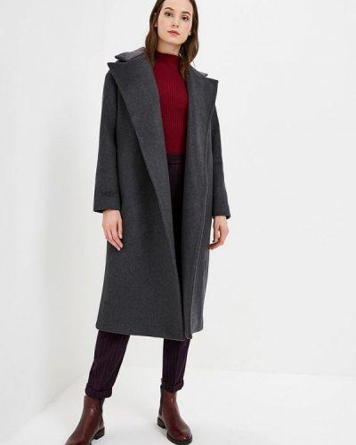 Пальто демисезонное серое Pepen