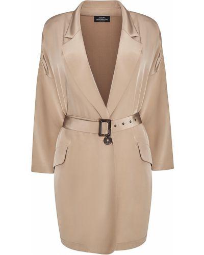 Однобортный приталенный удлиненный пиджак с поясом Alena Akhmadullina