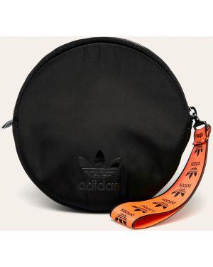 Черная сумка через плечо с перьями Adidas Originals