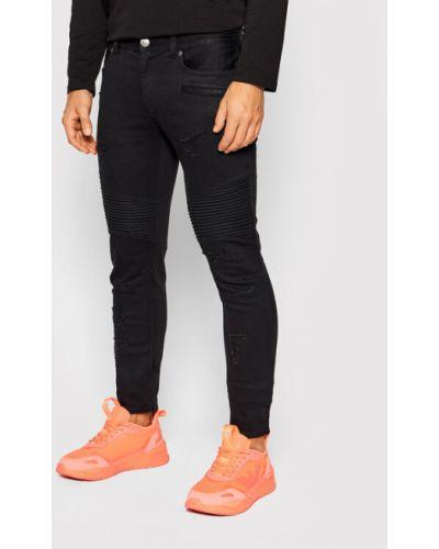 Mom jeans - czarne Armani Exchange