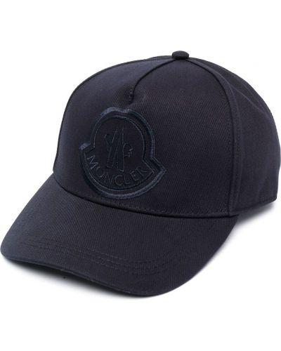 Bawełna czarny bawełna czapka baseballowa Moncler
