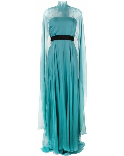 Вечернее платье - синее Alberta Ferretti