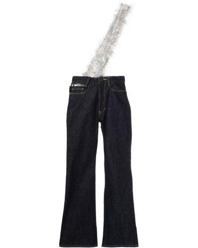 Расклешенные джинсы на пуговицах Facetasm