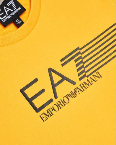 Pomarańczowa bluza Ea7 Emporio Armani
