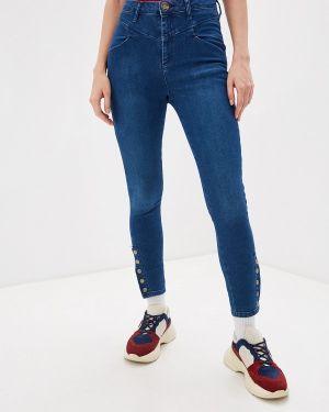 Зауженные джинсы - синие One Teaspoon