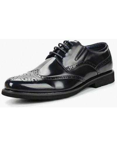 Синие туфли лаковые Zenden Collection