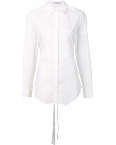 Рубашка белая с открытой спиной Tome