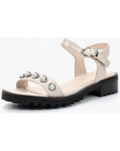 Бежевые сандалии Berkonty
