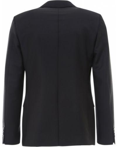 Czarny garnitur Prada