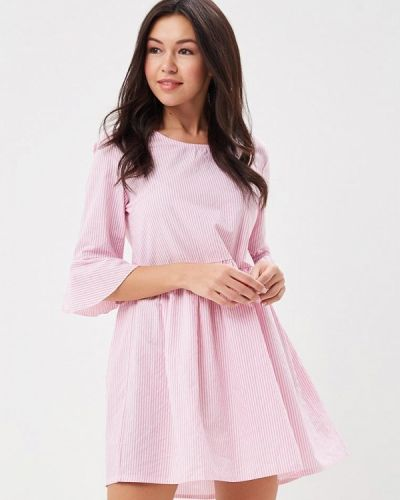 Розовое платье весеннее By Swan