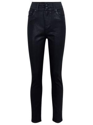 Ватные хлопковые черные джинсы Grlfrnd