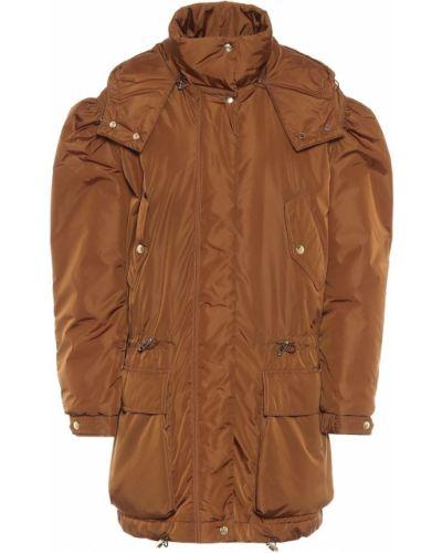 Коричневое пальто Max Mara