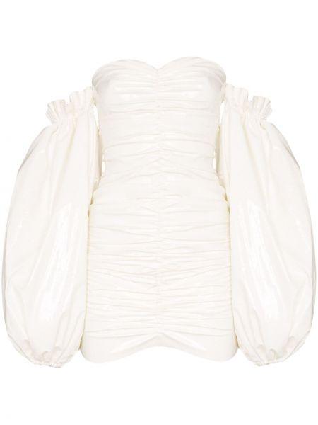 Платье мини на молнии со складками Rotate
