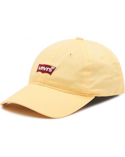 Żółta czapka z daszkiem Levi's