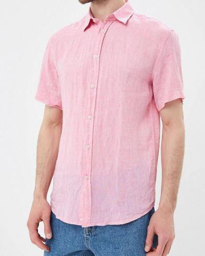 Розовая рубашка с короткими рукавами United Colors Of Benetton