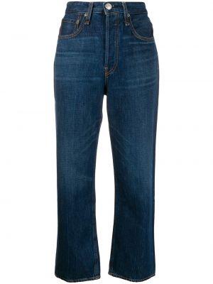 Укороченные джинсы на пуговицах с карманами Rag & Bone