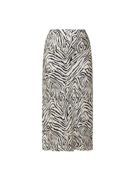 Biała spódnica z wiskozy z printem Catwalk Junkie