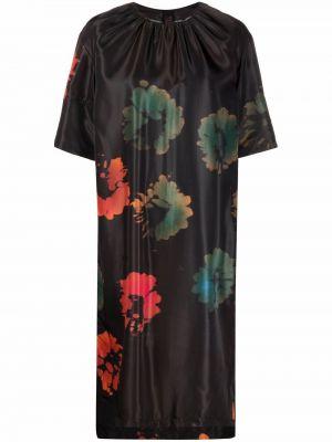 Платье трапеция - черное Marni