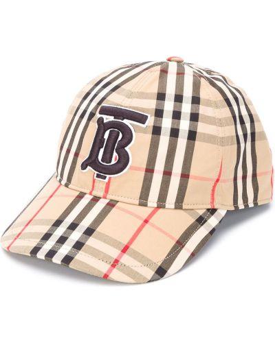 Bawełna brązowy baseball bawełna czapka Burberry