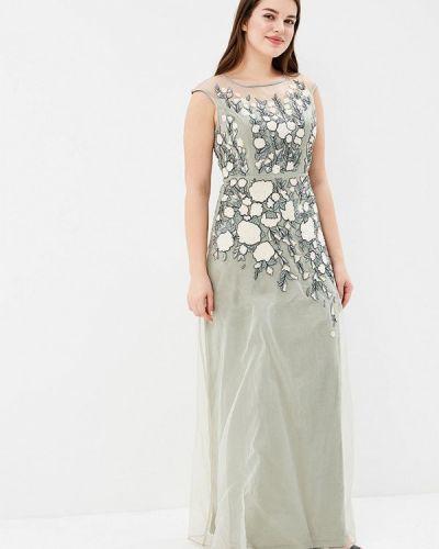 Платье зеленый Dlys