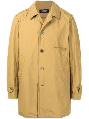 Klasyczny beżowy płaszcz bawełniany Undercover