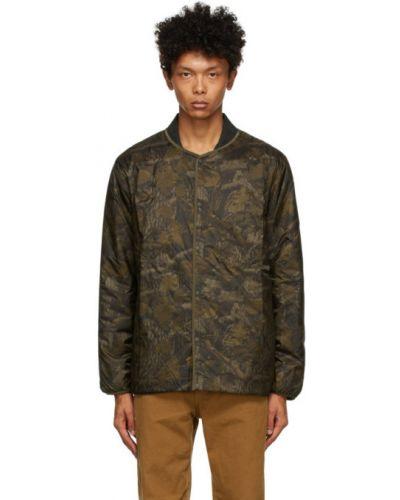 Черная стеганая длинная куртка с воротником South2 West8