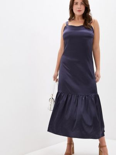 Платье - синее Over