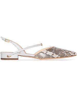 Туфли с ремешком с открытой пяткой Jennifer Chamandi