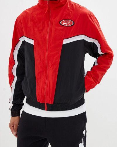Куртка осенняя красная осенний Nike