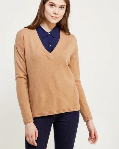 Коричневый пуловер S.oliver