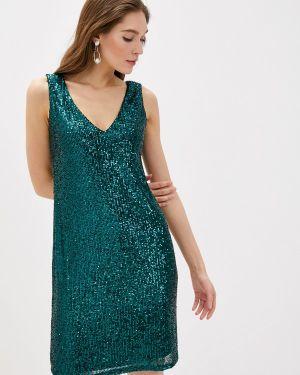 Вечернее платье осеннее зеленый Wallis