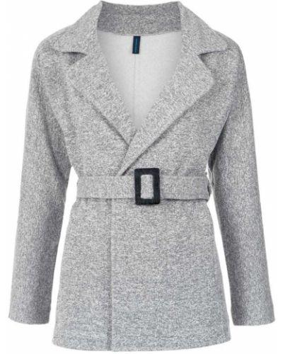 Коралловое пальто классическое с поясом Lygia & Nanny