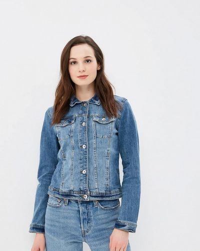 Синяя джинсовая куртка Tom Tailor