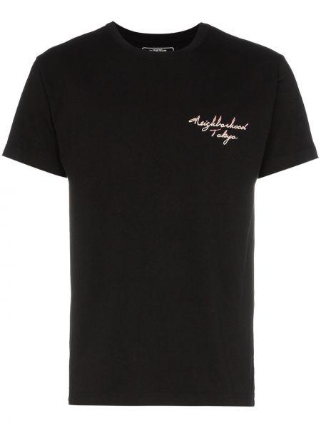 Koszula krótkie z krótkim rękawem z mankietami z nadrukiem Neighborhood