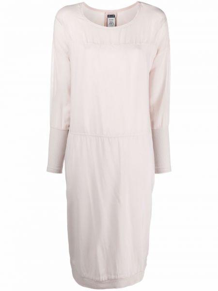 Приталенное шелковое платье макси стрейч Kristensen Du Nord