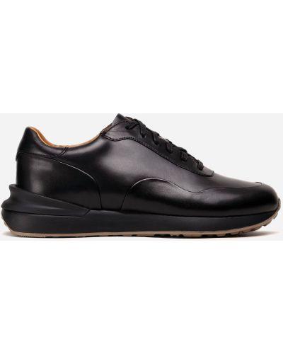 Текстильные кроссовки - черные Gino Rossi