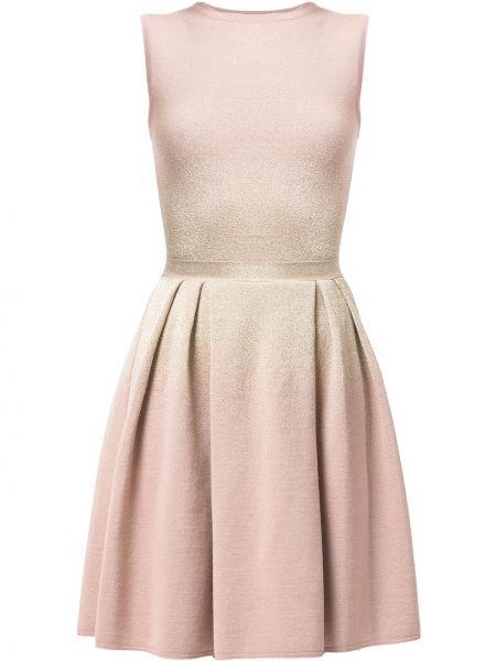 Różowa złota sukienka Christian Dior