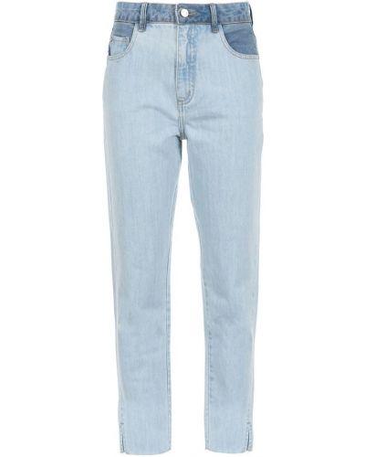 Классические прямые джинсы с карманами на пуговицах Nk Collection