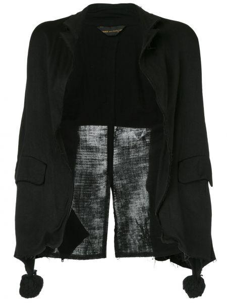 Черный пиджак винтажный из вискозы Comme Des Garçons Pre-owned