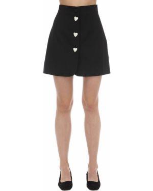 Плиссированная юбка мини George Keburia