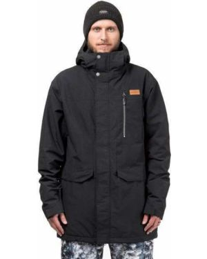 Черная куртка горнолыжная сноубордическая Horsefeathers®