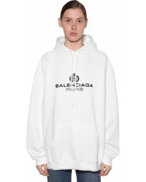 Bluza z kapturem z kapturem bluza kangurowa Balenciaga