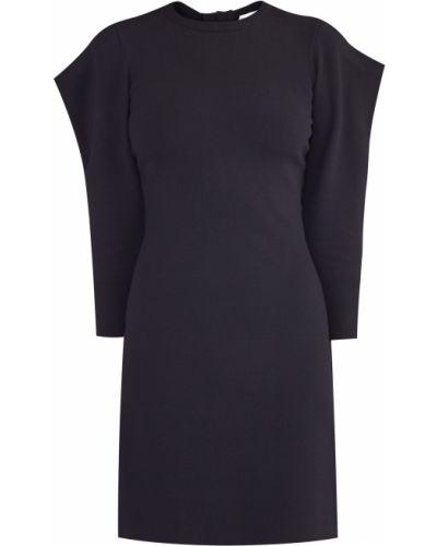 Платье мини с бантом в рубчик Valentino
