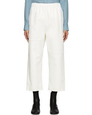 Укороченные брюки брюки-хулиганы дудочки Mm6 Maison Margiela