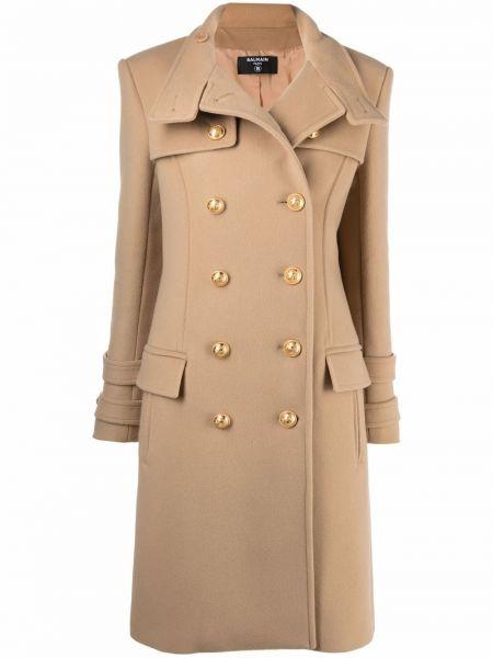 Хлопковое пальто Balmain